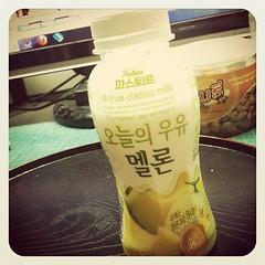 อร่อยโฮกกกก อยากไปเกาหลีขึ้นมาทันที ขอบคุณน้องเตยสำหรับของฝาก ☆〜(ゝ。∂)