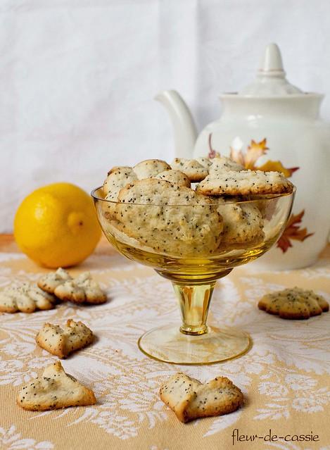 печенье лимонное с маком 1