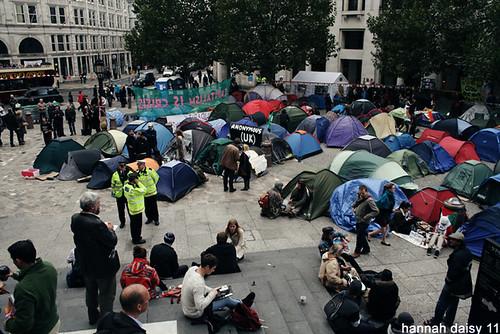 Occupy London @ St Pauls 21/10/2011