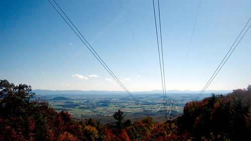 20111015 1313 - offroading - climbing the powerlines - slightly better view from up there - IMG_3716