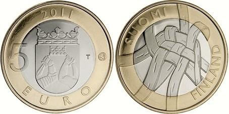 5 Euro Fínsko 2010, provincia Karelia