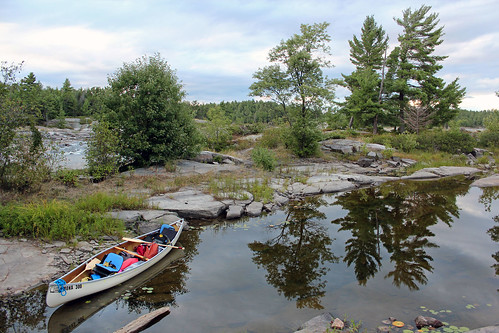 Canoeing on the French River (Wolseley Bay), Ontario, August, 2011