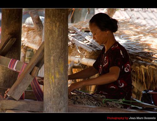 Weaving Songket