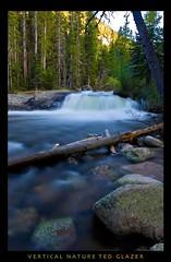 A Log Runs Thru It (Ted Glazer: Vertical Nature Photography) Tags: park mountains rockies rocky rapids national rivers rockymountains streams wildbasin tedglazer verticalnature