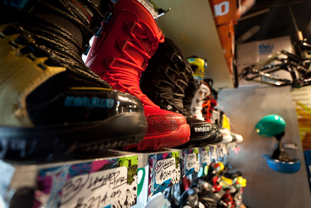 Snowboard Boots - Evolution Whistler