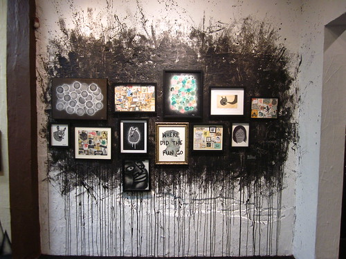 my wall at Choque Cultural Gallery