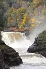 LowerFalls4 (352Digz) Tags: autumn water river nikon sigma waterfalls letchworth letchworthstatepark gorge lowerfalls genesee d5000