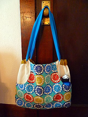 Finished Multi-Tasker Tote