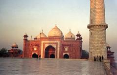 Taj Mahal - side building