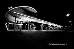 busstation halle (karl.wagner.photography) Tags: light urban bw white black bus station architecture germany dark bahnhof a1 halle saale hallesaale busbahnhof artgraphyhalle top502011 artgraphytop302011