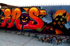 Fros Crew (COLOR IMPOSIBLE CREW) Tags: chile halloween graffiti crew zade quilpue 2011 fros