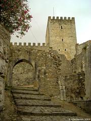 Castelo de Leiría, Portugal