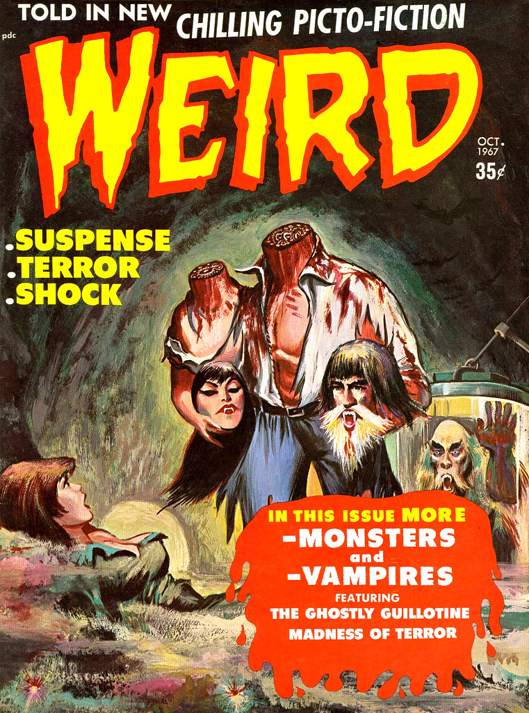 Weird Vol.2 #4 (Eerie Publications, 1968)