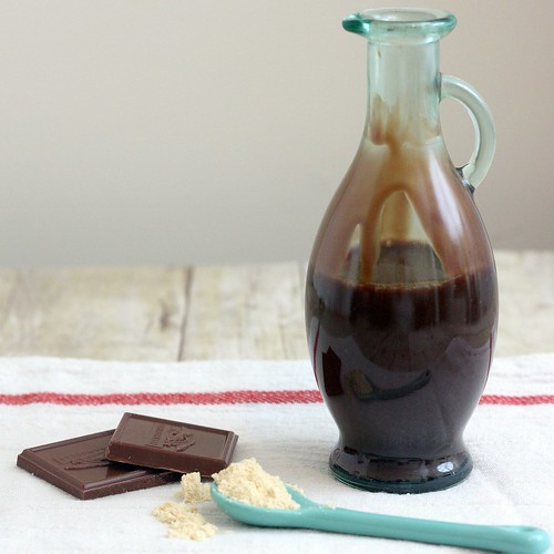 Malted Milk Chocolate Sauce