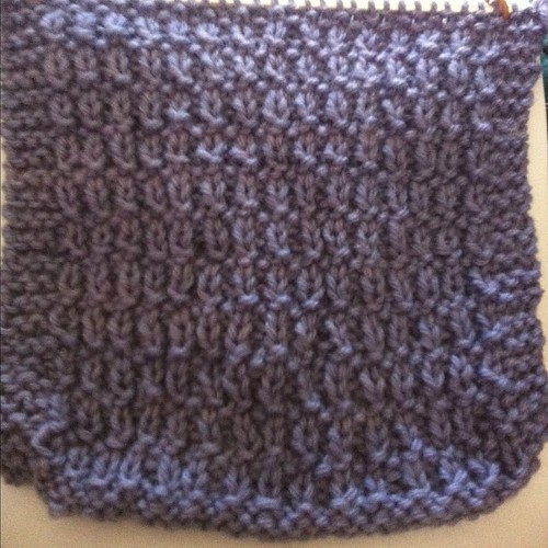 Aran wool scarf by Herie7