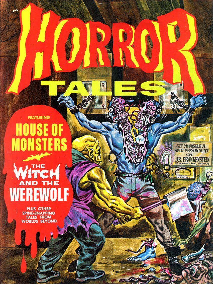 HorrorTales - Vol.2 #1 (Eerie Publications, 1970)