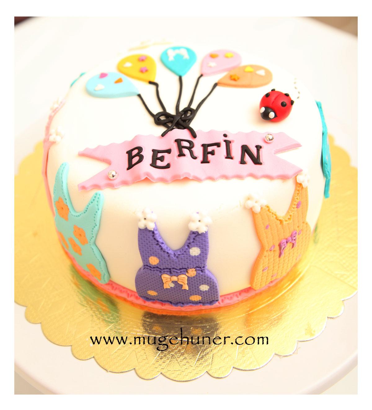 Berfin'in Baby Shower Pastası