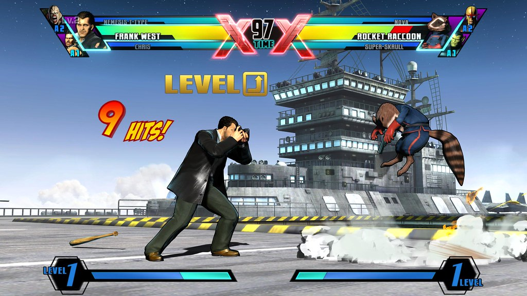 Frank West - Gamers Day Screen - ULTIMATE MARVEL VS. CAPCOM 3