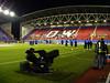 DW Stadium South Stand warmup - Wigan Athletic v Aston Villa, 16 March 2010