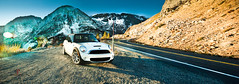 The Road Less Traveled (Folk|Photography) Tags: california road park winter light panorama cliff white snow mountains fall halloween car season natural united pass min