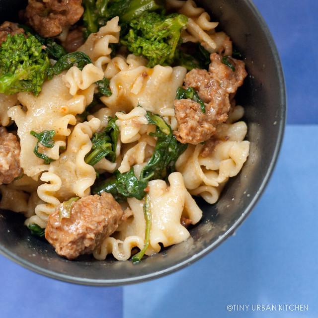 Broccoli rabe sausage pasta