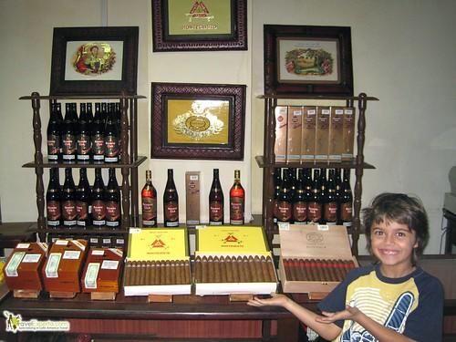 Cuban Cigars, Whiskey and Tobacco - On Display - Kid Fun - Cuba