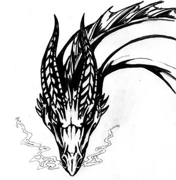Desenhando a cabeça de um Dragão 6306965898_dcba7210a5