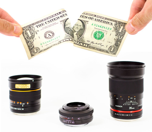</p> <p>Affordable lenses that won't break the bank