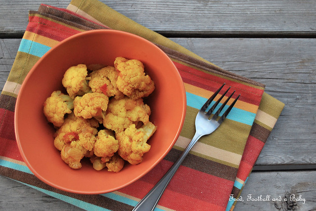 Indian Style Cauliflower Stir Fry