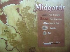 Mapa Yggdrasill