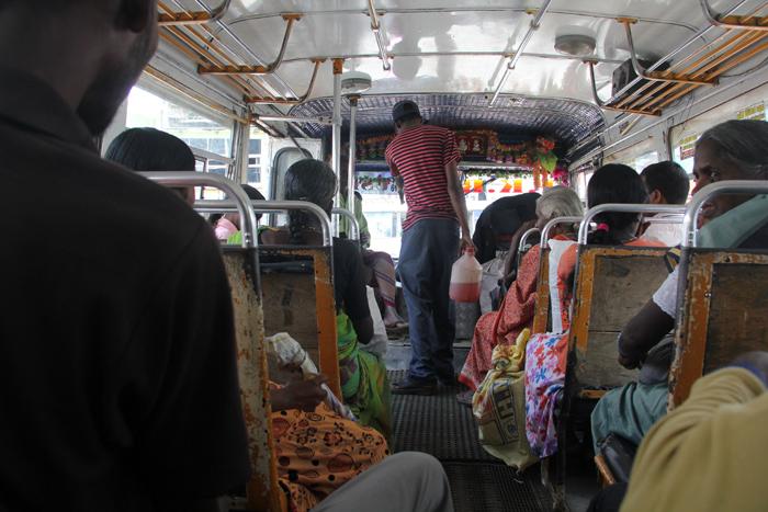 Sri Lankan Bus - Before it Got Packed