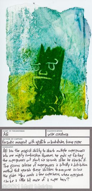 Wax creature 4: Ae