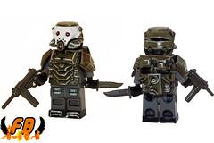Project Arbiter (Brick Mercenaries Custom Minifigures) Tags: united prototype brickarms amazingarmory