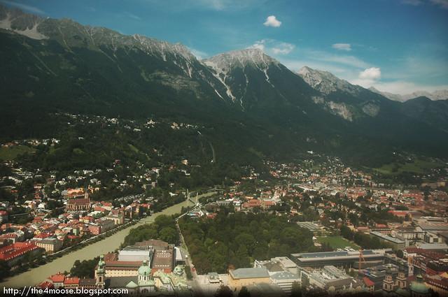 Towards Nordkette, Innsbruck