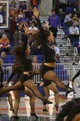 Gator Dazzlers (dbadair) Tags: basketball catholic cheerleaders florida gainesville gators fl cheer sec cua 2011