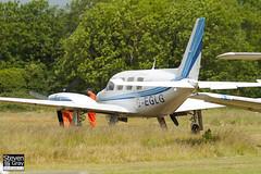 G-EGLG - 31-7812103 - Private - Piper PA-31 Navajo C - Panshanger - 110522 - Steven Gray - IMG_6482