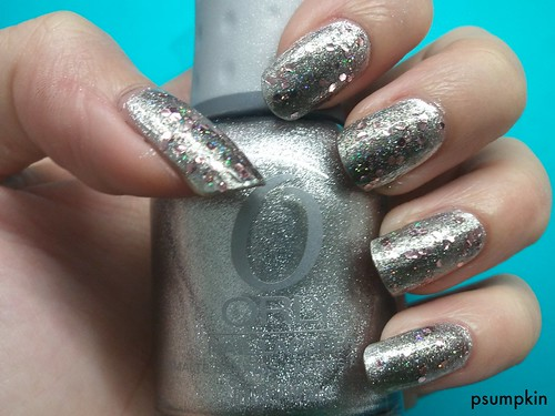 Orly Shine and pa aa36
