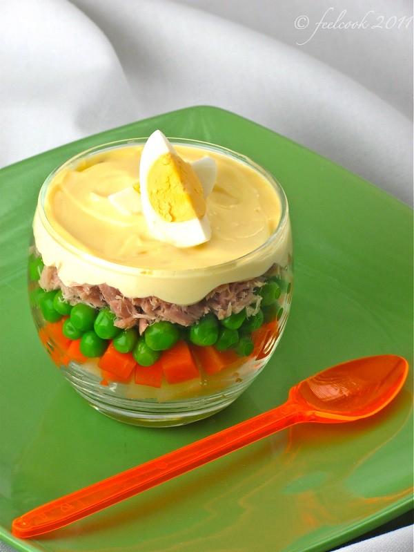 Bicchierino di insalata russa