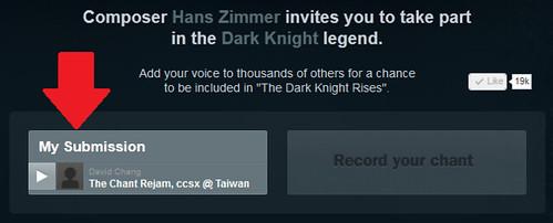 111109(2) - 作曲家「漢斯·季默」邀請18歲以上的全球網友歌唱詠嘆,將收錄在2012年暑假大片《黑暗騎士崛起》電影配樂內! (3/3)