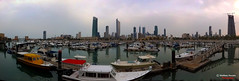 Another view of Sooq Sharq Panoramic shot (Shahbaz Hussain's Photography) Tags: city light sea sky brown white black color reflection art love water colors dark lens lights photo nice focus with view shot image royal panoramic arab falcon shutter inside another kuwait iphone sharq hussain sooq shahbaz flickraward ringexcellence