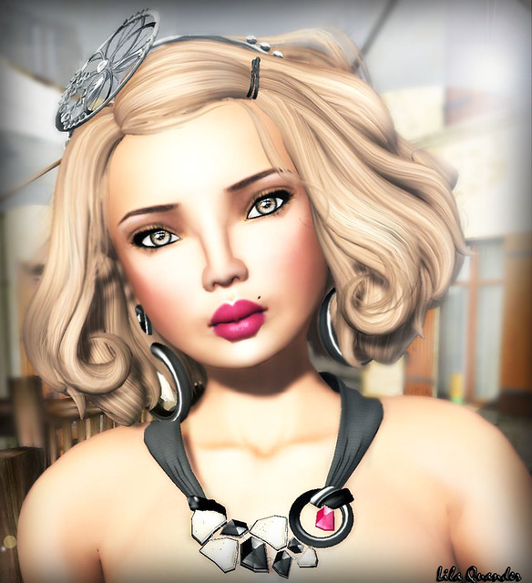 Lara Skin Betty Tan for Vintage Fair & LaGyo_Vintage headbend silver for Vintage Fair