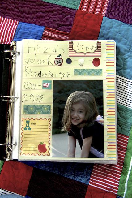 Eliza's Kindergarten Book