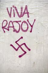 Rajoy (gaelx) Tags: calle pintada rajoy fascismo elecciones esvstica