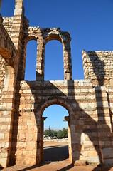 Anjar, Umayyad city, al-Walid I, 705-15, great palace (1) (Prof. Mortel) Tags: lebanon umayyad anjar
