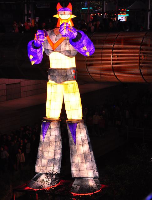 Thor at the Seoul Lantern Festival