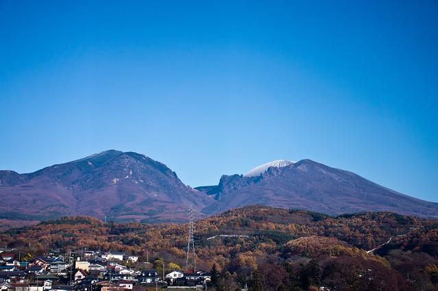 浅間山 初冠雪 2011 11/16
