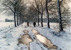 Besneeuwde Elsdijk te Moergestel, Oisterwijk (Grard V.) Tags: netherlands sneeuw moergestel elsdijk