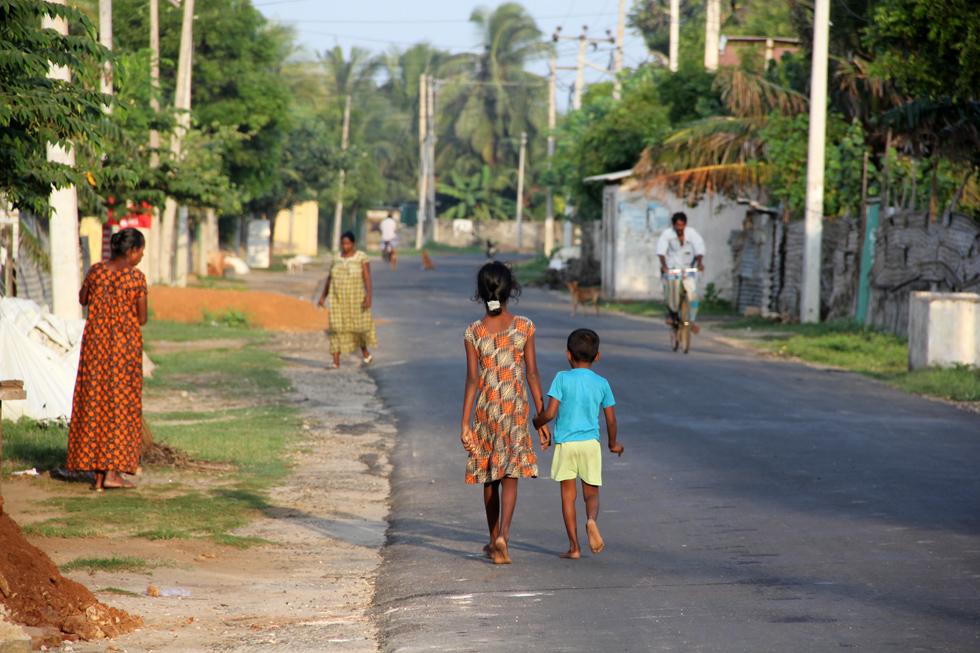 Jaffna Sri Lanka  City new picture : Beach Road, Jaffna, Sri Lanka