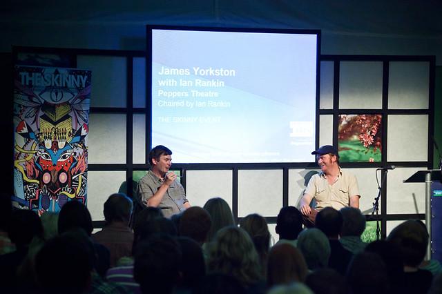 James Yorkston with Ian Rankin