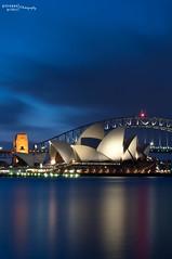 s m o o t h ~ s a i l s (Giuseppe Princi) Tags: longexposure sydney bluehour operahouse